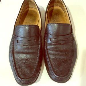 "Bally classic loafers men's 9.5US slipon ""penny"""